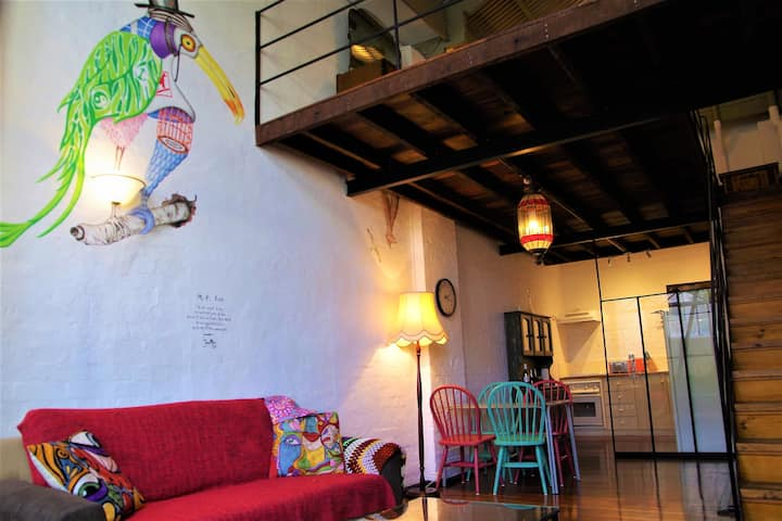 The Old Joyce Factory Loft Apartment