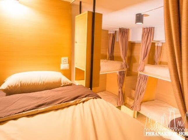 Phranakhon Hostel (8  Lady  Dormitory Room)