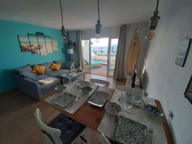 Summer apartment nearby the beach