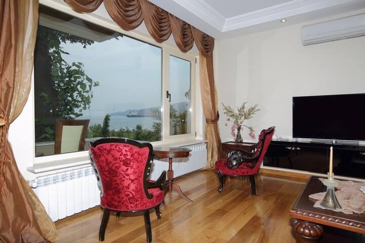 Kireçburnu Sarıyer Deniz Manzaralı Villa - Sarıyer - Villa