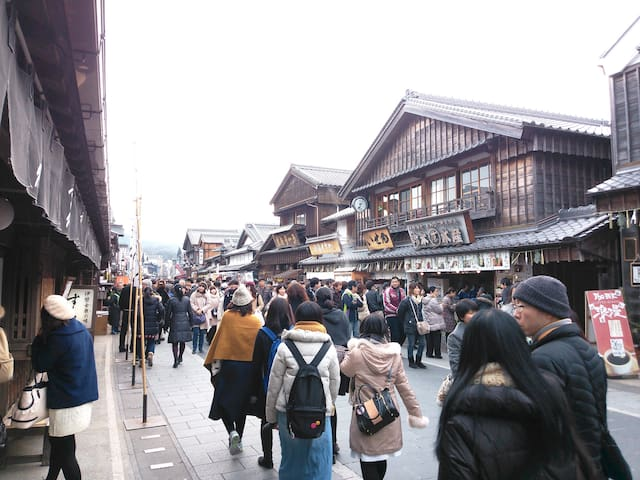 8min from Ise-Jingu, small room - Ise-city - Hus
