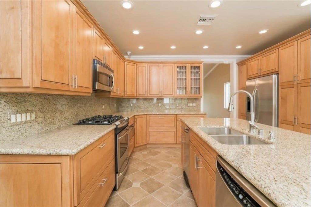 Our clean elegant kitchen