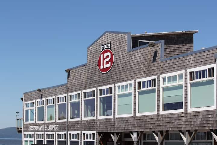 Pier 12 Unit 11:  Astoria's perch .