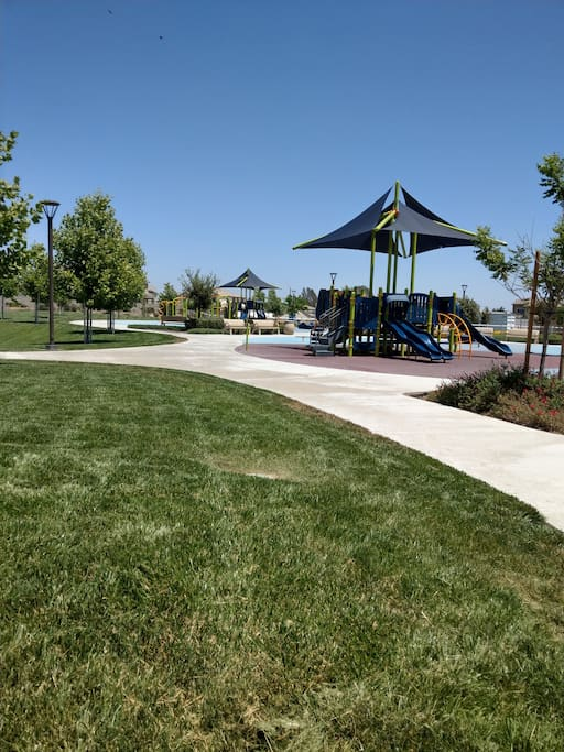 Community park playground.