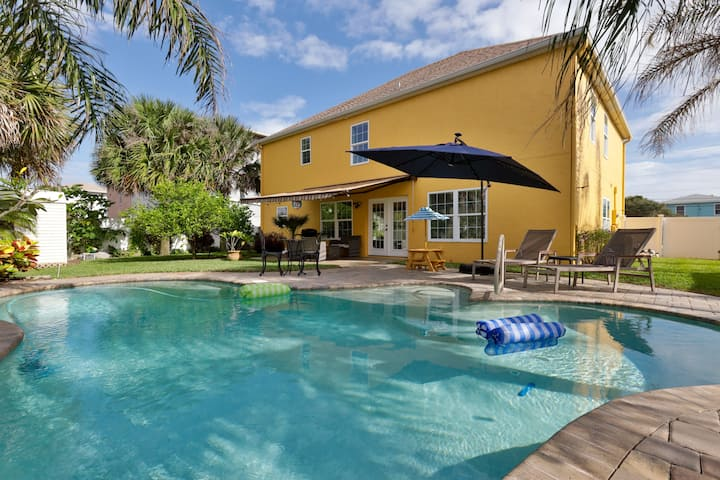Oceanview Private Pool -Golf cart w/ weekly rental