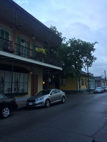 Creole Cottage in the Faubourg Marigny