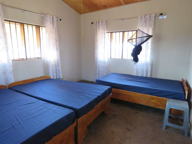 Bedroom Lake view Cottages