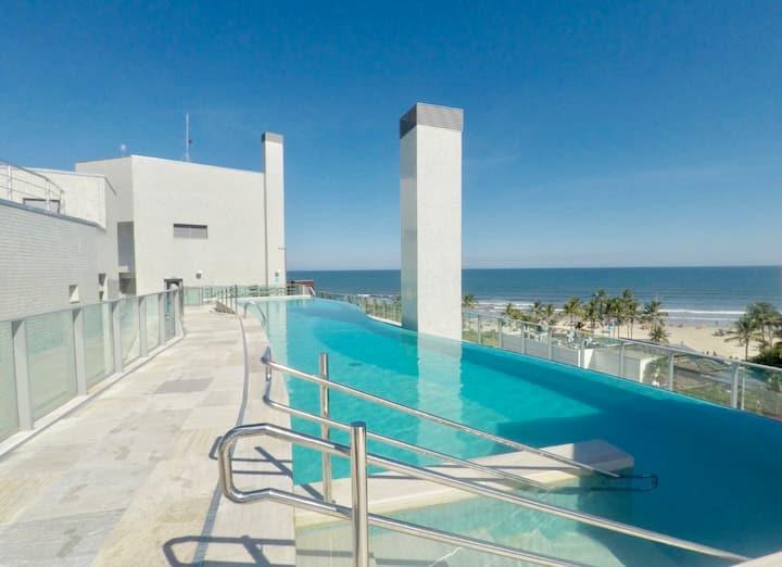 Apto pé na areia Riviera, San Sebastian - Módulo 5