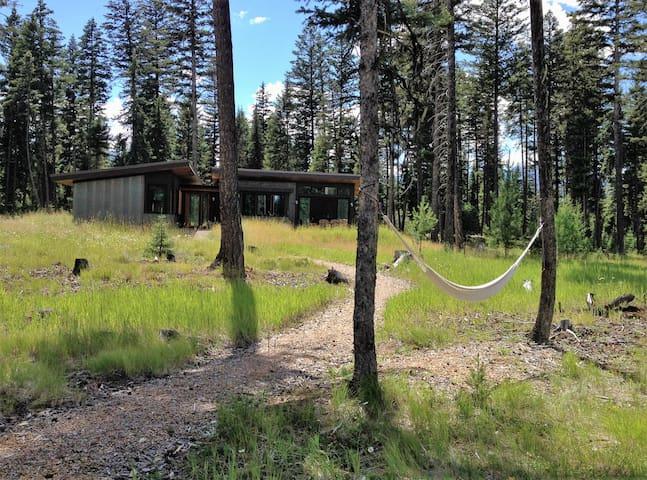 Modern River Cabin