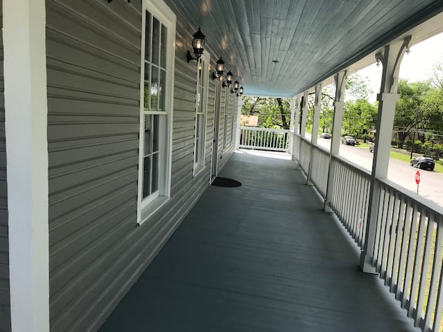 Beautiful open porches