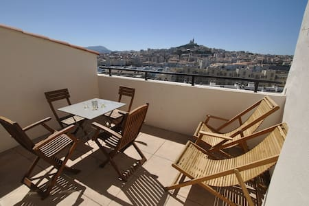 ☼ 2-rooms with terasse ☼ - Marseille