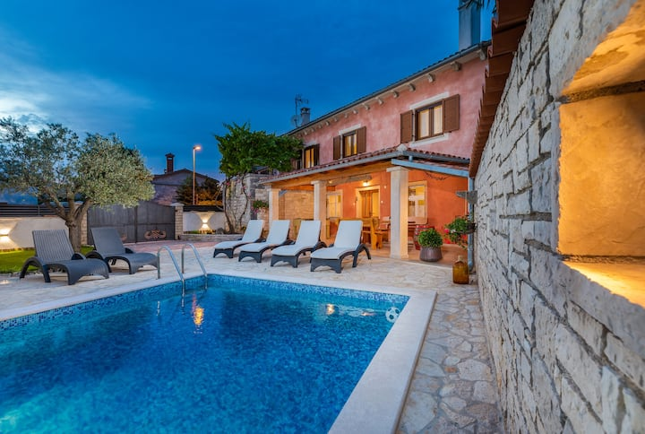 Casa Bepi with private pool near Rovinj
