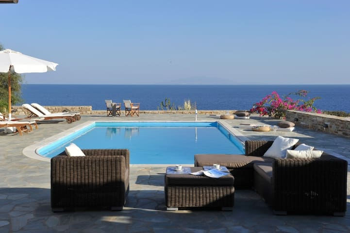 Antiparos beach villa with pool - Antiparos - Huvila