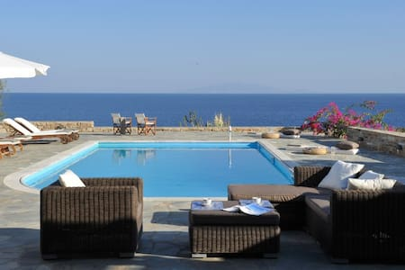 Antiparos beach villa with pool - Antiparos - Villa
