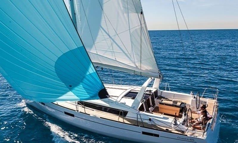 Luxury Sailboat - Whole Boat - 360 Seaview - M