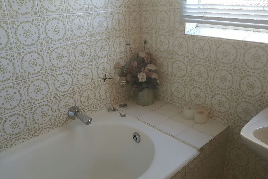 Private bathroom with only bath. Toilet is separately and toilet is shared sometimes.