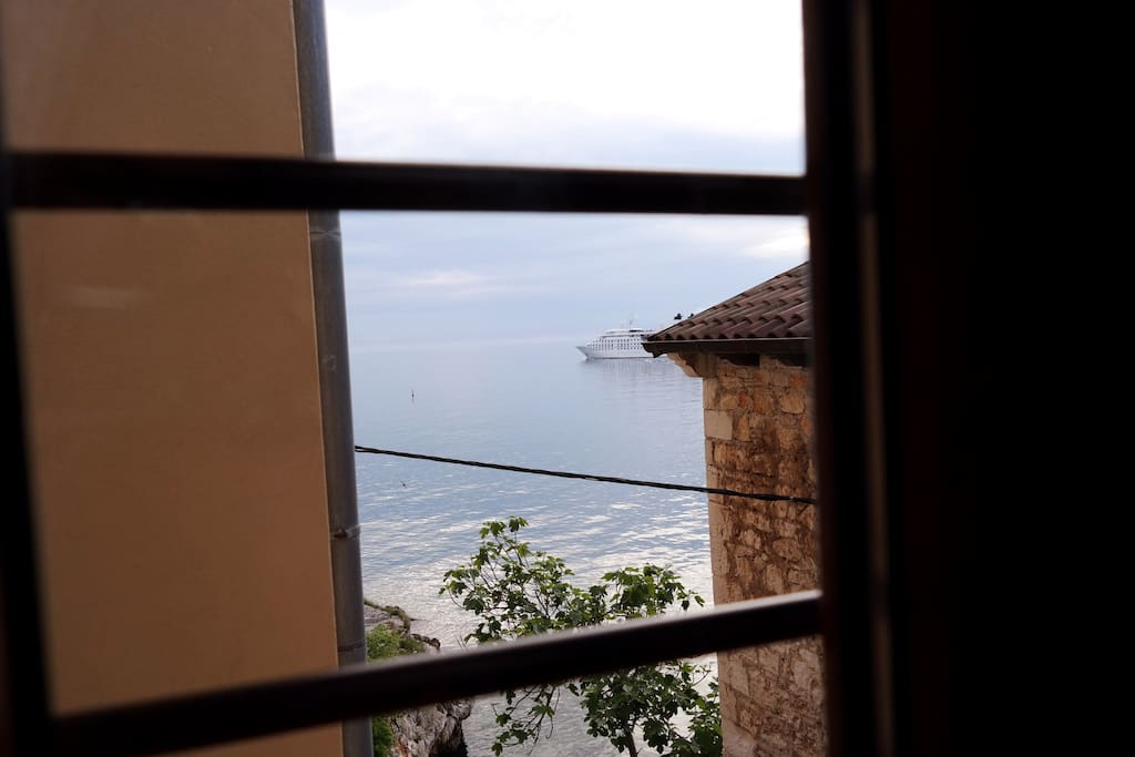 SEA VIEW AND ISLANDS FROM WINDOWS FROM LIVING ROOM :)