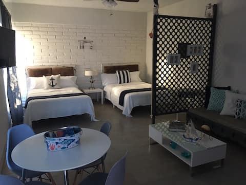 Cozy loft in Bahia de kino a 1 cuadra de la playa