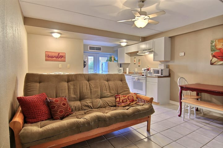 NEW! Well-furnished, waterfront studio w/ pools! Great for couples!