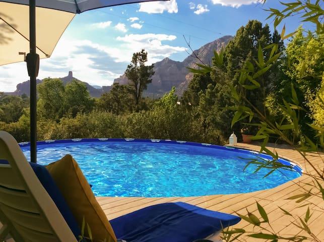 Sedona Sunset Jewel, Amazing Views, Pool