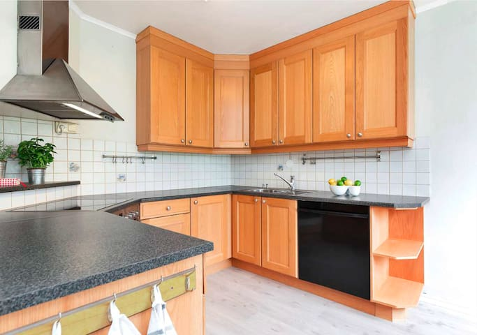 Bright, relaxed apartment close to NTNU and city - Trondheim - Apartament