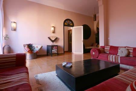 Chambre double supérieur-Aquarelle - Marrakesh