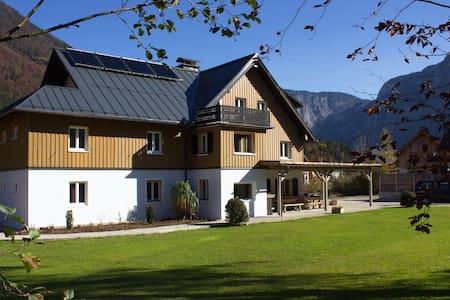 Landhaus am See:  großzügige Ferienwohnung 195 qm - Obertraun - Rumah