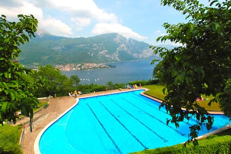 beautiful view apartement on Como lake - Valbrona
