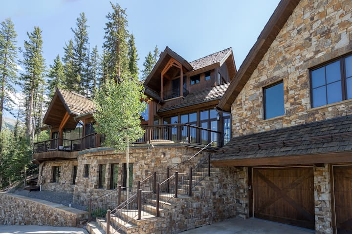Birch Cassidy- Sublime, high tech, imposing views, ski in-ski-out, hot tub, fire pit