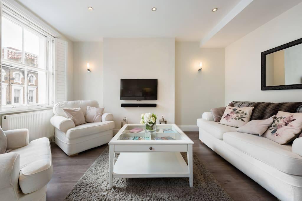 Modern and smart living room
