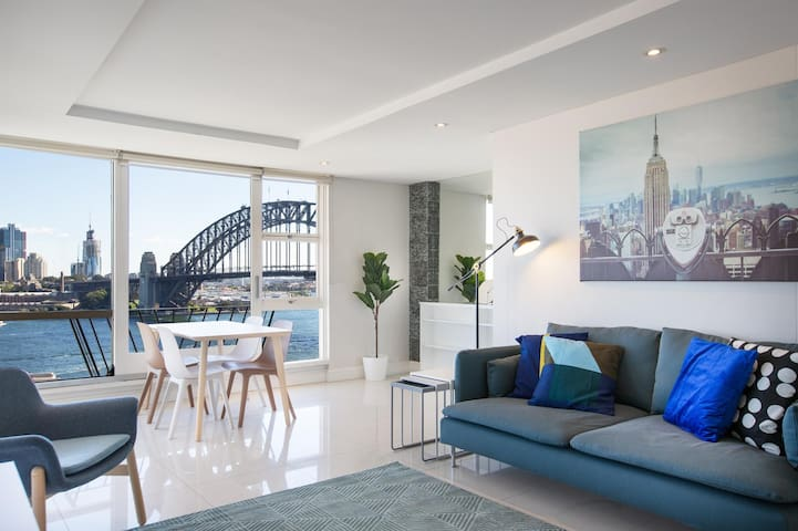 Harbour Views and Parking in Tranquil Kirribilli