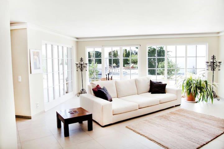 Luxuriöse Ferienwohnung in Landvilla (101m²) - Oberkrämer - Apartamento