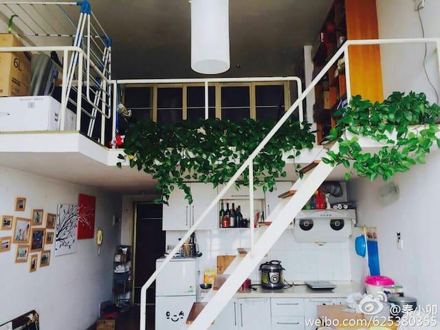 Chengdu成都市区跃层LOFT公寓独立房间整套房子临宽窄巷子文殊院骡马市 - Chengdu - Leilighet