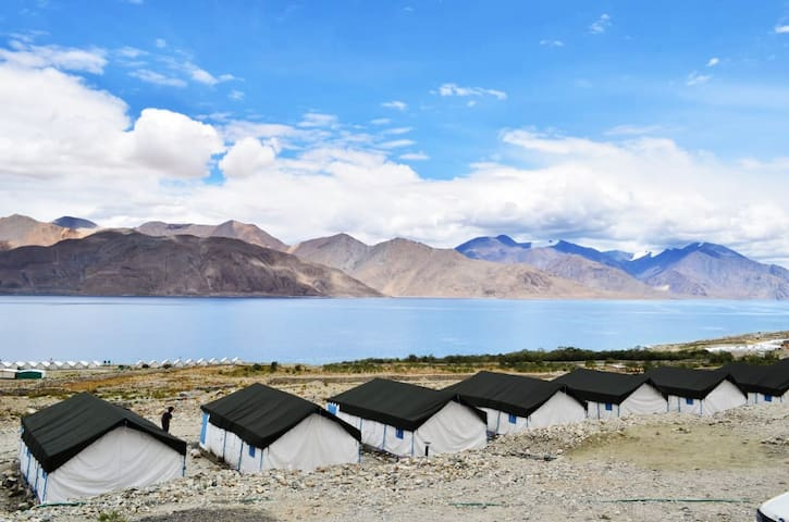TSo Camps of Pangong