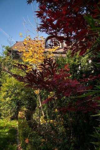 Landhaus mit Schwimmteich und wunderschönem Garten