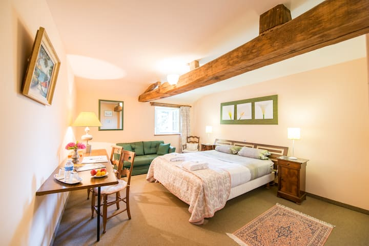 Double room-Standard-Ensuite with Bath-Countryside view-Sébastien Taillepied