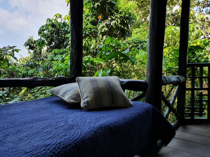 Sanctuary-Andaman Islands- hilltop cottage. no 4