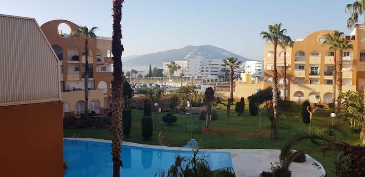 loften centro del pueblo de Ibiza