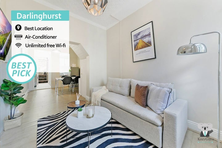KOZYGURU | SYDNEY CBD | Darlinghurst | Split Level 2 BEDROOM Terrace