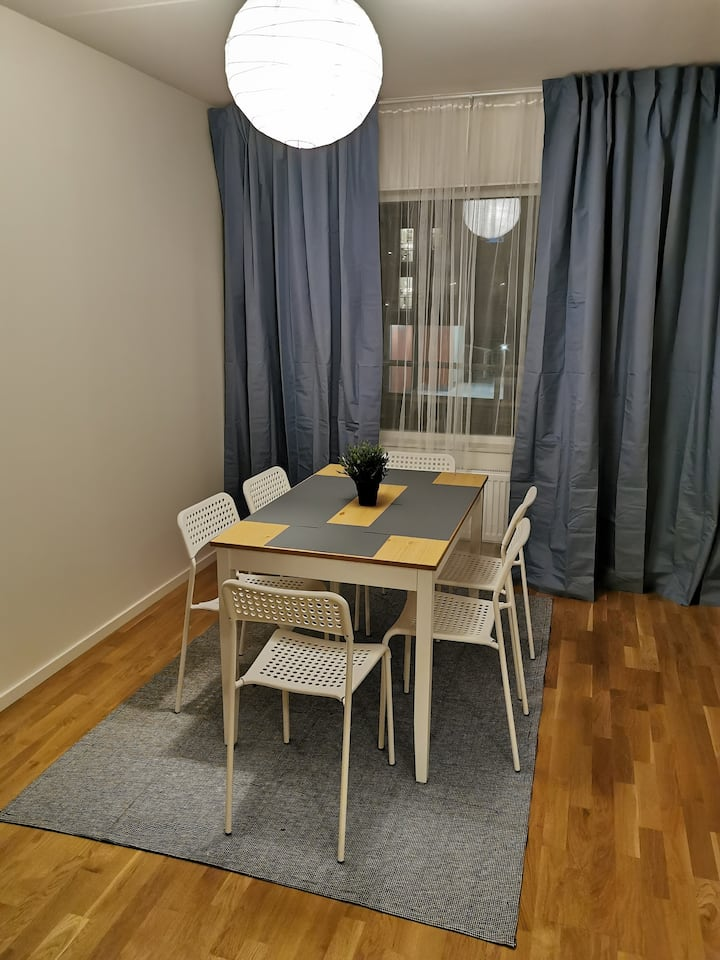 Comfortable living close to Örebro center