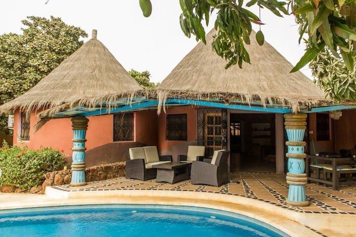 """Villa """"Africa Paradise"""" à la Somone - Thies"""