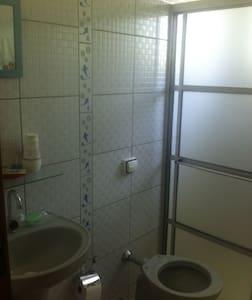 Suite espaçosa e confortável para 2 pessoas - Cunha