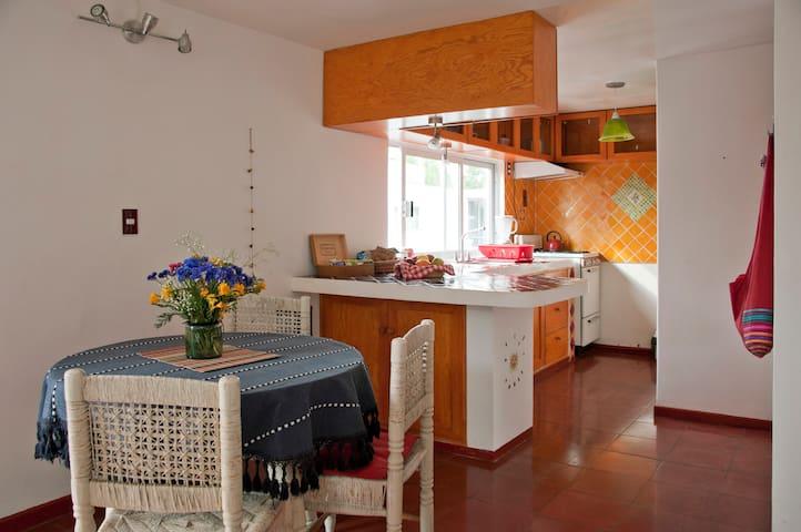 Bello luminoso estudio en Coyoacán - Cidade do México - Apartamento