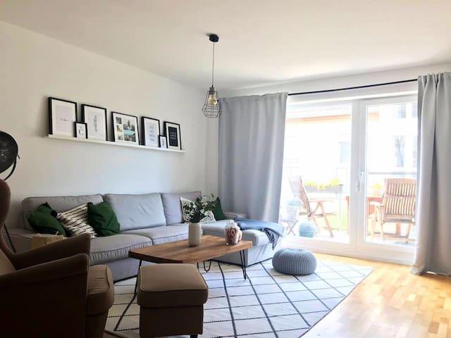 Schöne Maisonette-Wohnung nahe Düsseldorf