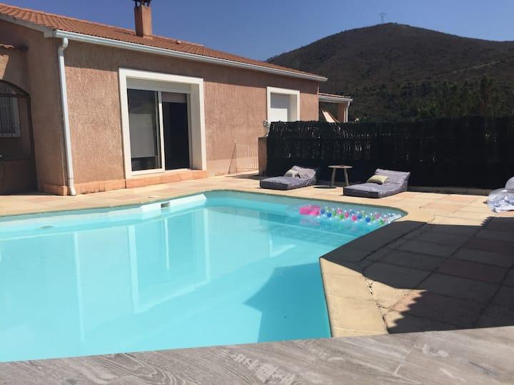Villa Moderne 6/8P,  piscine privative, Hte Corse