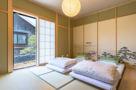 【Maisn-chi 】Japanese-Style Twin bed room