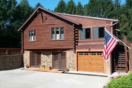 Log House Apartment