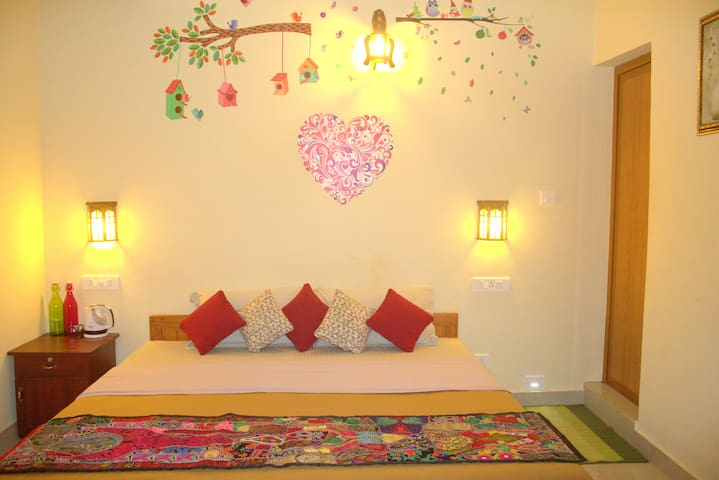 Thekkady Homestay Private Double deluxe room 1
