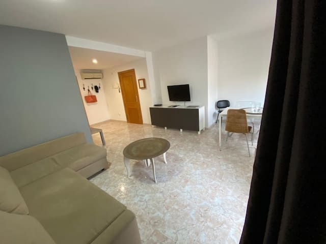 TWO STEP FROM THE BEACH !! 3 BEDROOMS FLAT- 6 PAX