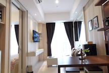 Cozy & Spacious Suite at Taman Anggrek CBD